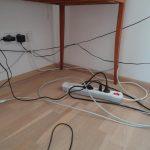 Verlaengerungskabel und Netzteile verursachen Elektrosmog